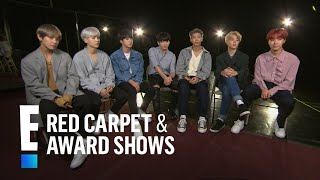 Boys of BTS Tease 2017 American Music Awards Performance | E! Red Carpet & Live Events