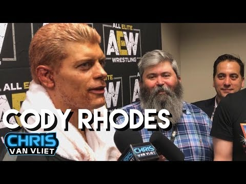 Cody explains the Triple H reference in his DoN entrance, Jon Moxley, his match with Dustin