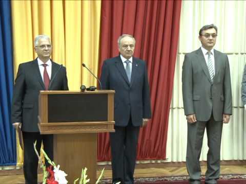 Nicolae Timofti i-a felicitat pe angajații SIS cu prilejul celei de-a 22–a aniversări de la crearea organelor securității statului