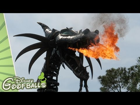 Last Moments Before Fire Maleficent Dragon - Walt Disney World 2018 🇺🇸