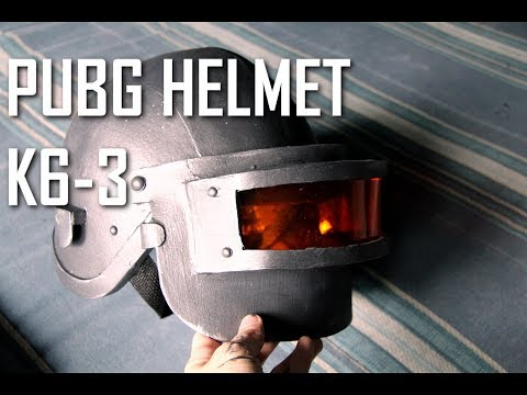 HOW TO: PUBG Costume ( Lv3 Helmet Aka K6-3 )