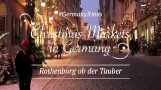 Rothenburg Ob Der Tauber Germany  City pictures : #GermanyXmas - Christmas Markets in Germany - Rothenburg ob der Tauber