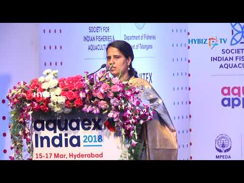 , Aquaex India 2018 Inauguration-Dr.C.Suvarna