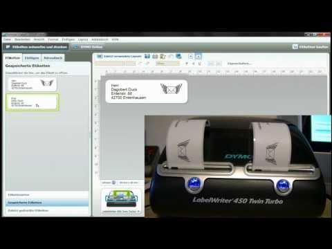 Label-Writer - Etiketten-Drucker Dymo 450 Twin Turbo S0838870 - Test
