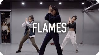 Flames - David Guetta & Sia / Jin Lee Choreography
