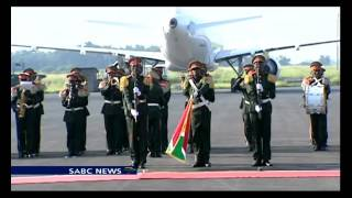 President Jacob Zuma is stuck in Burundi several hours after the African Union High Level Panel on Burundi concluded its...