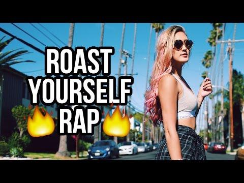 ROAST YOURSELF RAP CHALLENGE | LaurDIY