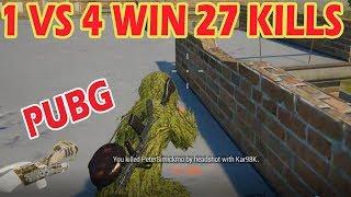 Video PUBG MOBILE | 27 KILLS WIN | 1 MAN SQUAD | 27 Kills Solo VS Squad MP3, 3GP, MP4, WEBM, AVI, FLV November 2018