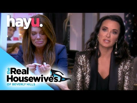 Vanderpump Takes Her Anger Out On Kyle | Season 9 | Real Housewives Of Beverly Hills