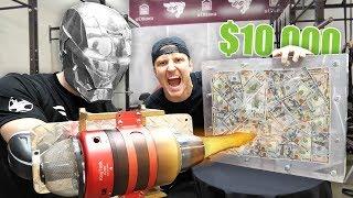 Video $10,000 IF ANY YOUTUBER CAN BREAK THE BOX!! (UNBREAKABLE GLASS CHALLENGE) MP3, 3GP, MP4, WEBM, AVI, FLV September 2019