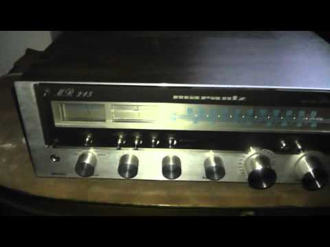 Sintoamplificatore Marantz MR 215 restaurato