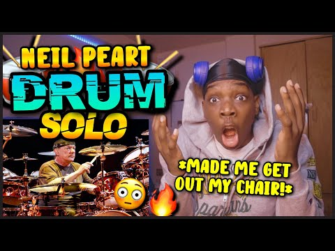 BEST DRUM SOLO EVER?! Neil Peart Drum Solo - RUSH Live in Frankfurt [REACTION!]🔥