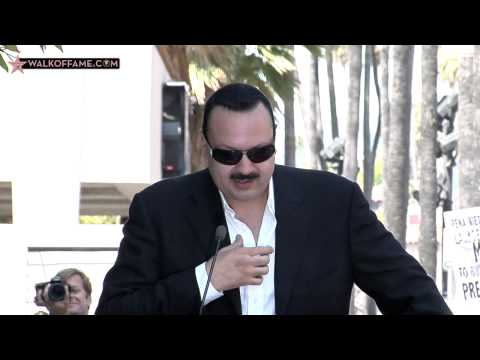Pepe Aguilar Walk of Fame Ceremony