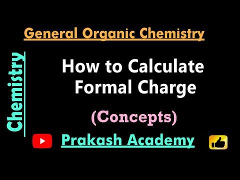Organische Chemie Einführung formelle Anklage Probleme