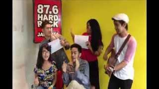 Gamaliel, Audrey, Cantika - Jangan Parkir Dihatiku on Hard Rock FM Jakarta