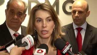 VÍDEO: Entrevistas da secretária de Planejamento e Gestão, Renata Vilhena, e do secretário de Fazenda, Leonardo Colombini, sobre o relatório fiscal
