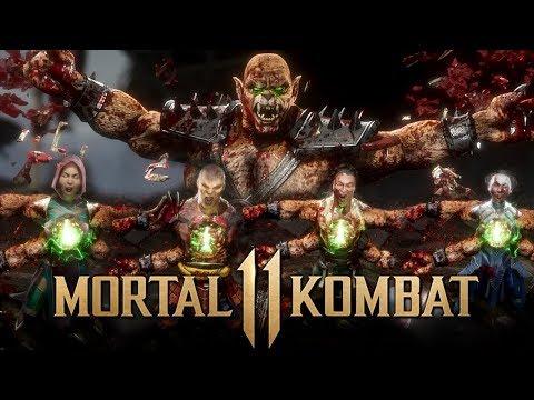MK11 - Kintaro Fatality On ALL Characters