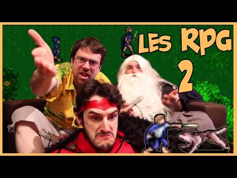 rpg - Salut à tous ! Nouvelle vidéo ! la 46ème je crois, faudrait recompter mais j'ai la flemme. bref ! La suite de la vidéo sur les RPG avec lord of the rings sur...