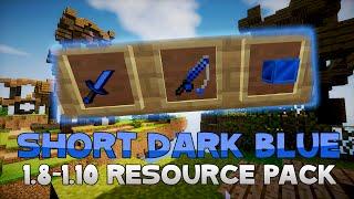 AciDic BliTzz DARK BLUE SHORT SWORD Texture Pack (1.8/1.9/1.10 Resource Pack)