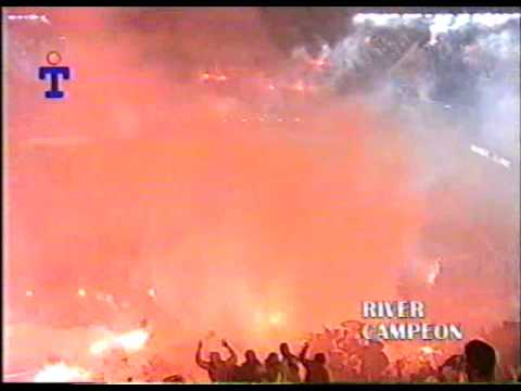 Video - Re: RIVER PLATE Recibimiento Historico (Chileno sos amargo) - Los Borrachos del Tablón - River Plate - Argentina