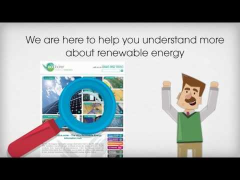 A website guided tour to renewable energy in the UK | By Arthur Reynolds – www.ecolocker.co.uk.