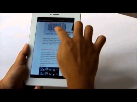 Ainol Novo 7 AX1 Android 4.2 Quad Core 3G Tablet PC Unboxing and Review