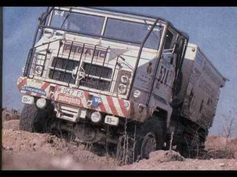 CAMIONES PEGASO PARIS DAKAR Y OTROS RAIDS. Trucks Dakar 80s