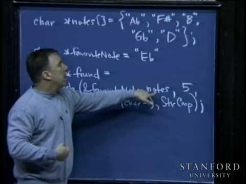 Lecture 5 | Programming Paradigms (Stanford)