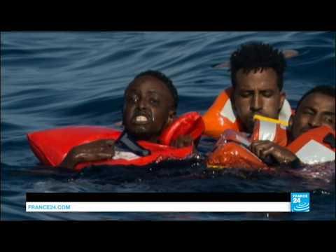 4天救起1萬移民  至少54人葬身地中海