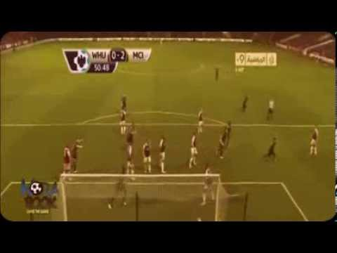 Manchester City vs West Ham 3-1 All Goals & HighLights 19.10.2013 HD Premier League