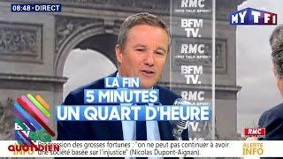 Video Nicolas Dupont-Aignan a-t-il regardé le débat ? Qui envoyait des SMS à Fillon ? On a les réponses ! MP3, 3GP, MP4, WEBM, AVI, FLV Oktober 2017