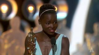 Video Lupita Nyong'o winning Best Supporting Actress MP3, 3GP, MP4, WEBM, AVI, FLV November 2018