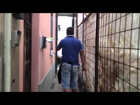 La vita lungo il cantiere della ferrovia: Induno Olona