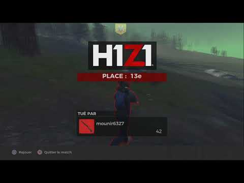 Gameplay maison de H1Z1