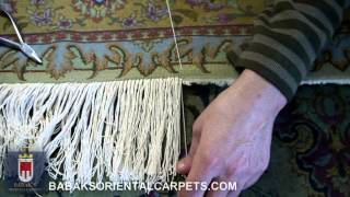 4-Adding Fringe To A Persian Carpet