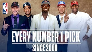 Every Number One Pick Since 2000! | From Kenyon Martin to Zion Williamson by NBA