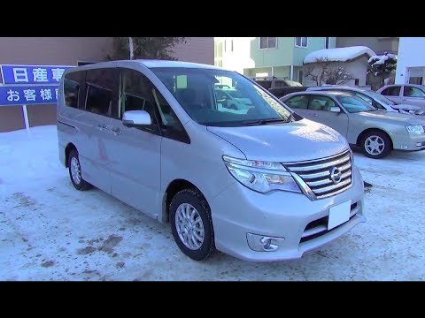 2013-2014 New NISSAN SERENA HighwaySTAR - Exterior & Interior