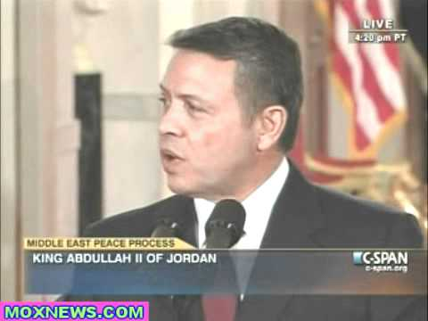 Leaders Remark On Mideast Peace Talks pt.2 Jordan's King Abdullah