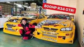 CAR SHOPPING FOR R34 GTR's IN JAPAN!