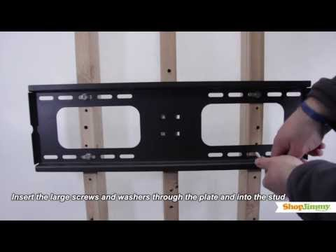 how to patch holes from tv mount