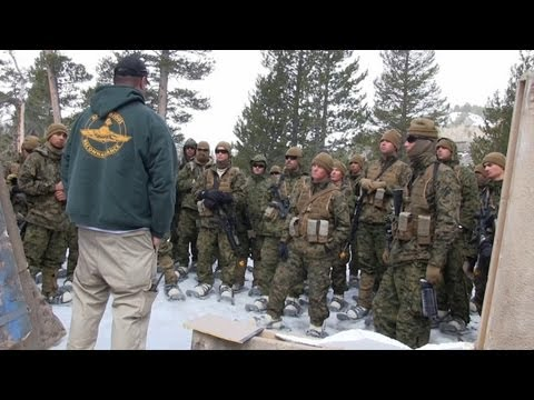 Marines - April 4-17, 2013 -- Marines with Second Battalion, Third Marine Regiment (2/3) receive a wide range of winter training at the Marine Corps Mountain Warfare T...