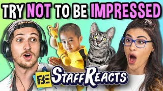 Video Try Not To Be Impressed Challenge (ft. FBE Staff) MP3, 3GP, MP4, WEBM, AVI, FLV Desember 2018