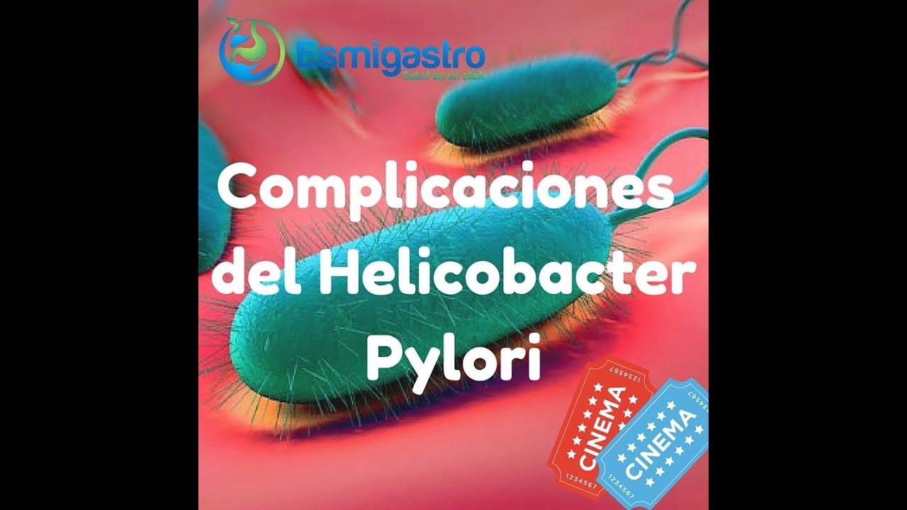 Complicaciones del helicobacter pylori