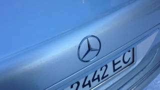 видео авто Mercedes-Benz S 430 в кредит