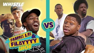BEST Basketball Movie Ever? | FamousLos & Filayyyy React by Whistle Sports