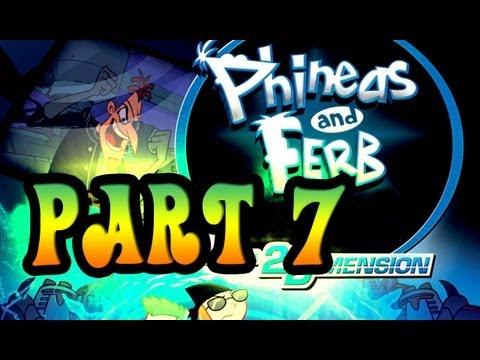 phineas et ferb voyage dans la 2ème dimension wii code