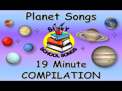 Planet Songs for Children | 19 Minute Compilation from Silly School Songs! | Planet Songs for Kids
