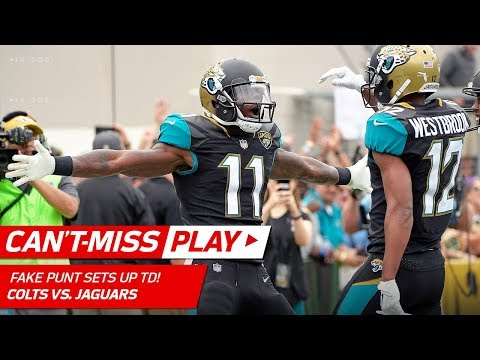 Video: Jags Perfect Fake Punt Sets Up Blake Bortles' TD Pass to Marqise Lee! | Can't-Miss Play | NFL Wk 13