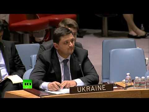 Постпред Украины не смог ответить на вопросы Чуркина