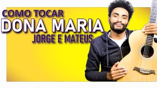 image of COMO TOCAR - Dona Maria (Thiago Brava feat. Jorge)